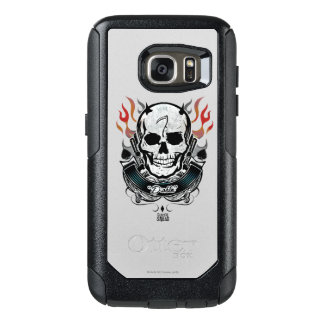 Suicide Squad | Diablo Skull & Flames Tattoo Art OtterBox Samsung Galaxy S7 Case