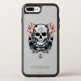 Suicide Squad | Diablo Skull & Flames Tattoo Art OtterBox Symmetry iPhone 7 Plus Case