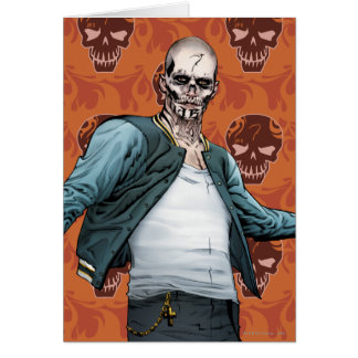 Suicide Squad | El Diablo Comic Book Art Card