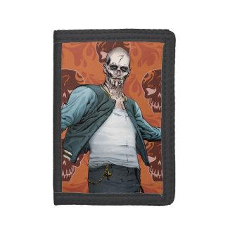 Suicide Squad   El Diablo Comic Book Art Trifold Wallets