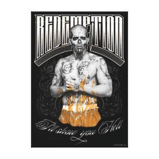 "Suicide Squad | El Diablo ""Redemption"" Tattoo Canvas Print"