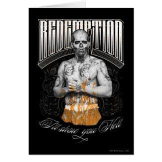 "Suicide Squad | El Diablo ""Redemption"" Tattoo Card"