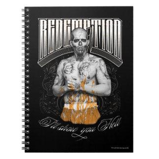 "Suicide Squad | El Diablo ""Redemption"" Tattoo Notebooks"