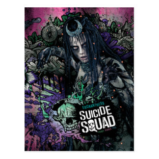 Suicide Squad | Enchantress Character Graffiti Postcard