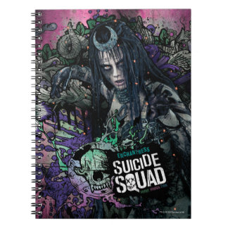 Suicide Squad | Enchantress Character Graffiti Spiral Notebook