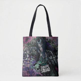 Suicide Squad | Enchantress Character Graffiti Tote Bag