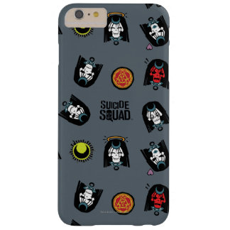 Suicide Squad | Enchantress Emoji Pattern Barely There iPhone 6 Plus Case