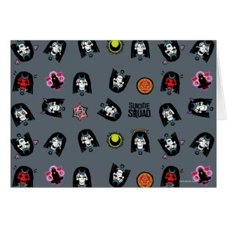 Suicide Squad | Enchantress Emoji Pattern Card