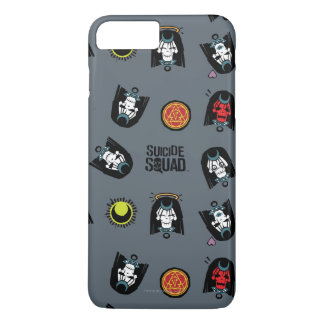 Suicide Squad | Enchantress Emoji Pattern iPhone 8 Plus/7 Plus Case