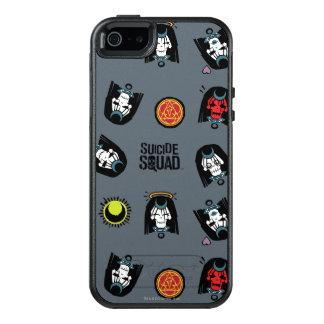 Suicide Squad | Enchantress Emoji Pattern OtterBox iPhone 5/5s/SE Case
