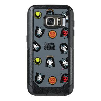 Suicide Squad | Enchantress Emoji Pattern OtterBox Samsung Galaxy S7 Case