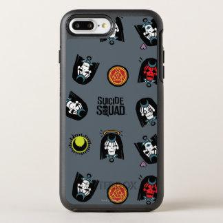 Suicide Squad | Enchantress Emoji Pattern OtterBox Symmetry iPhone 8 Plus/7 Plus Case