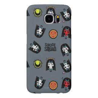 Suicide Squad   Enchantress Emoji Pattern Samsung Galaxy S6 Cases
