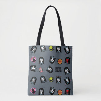 Suicide Squad | Enchantress Emoji Pattern Tote Bag
