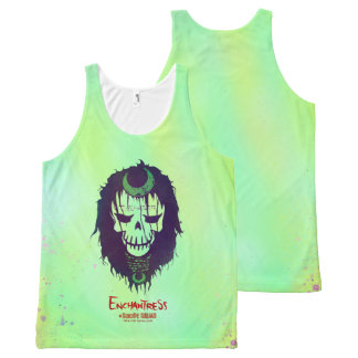 Suicide Squad | Enchantress Head Icon 2 All-Over Print Tank Top