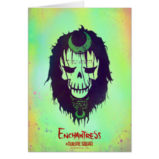 Suicide Squad | Enchantress Head Icon Card