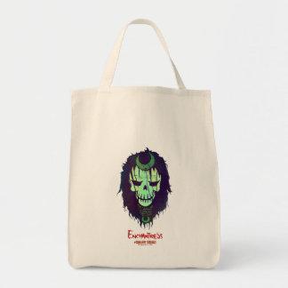 Suicide Squad | Enchantress Head Icon Grocery Tote Bag