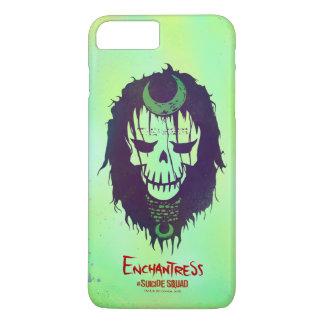 Suicide Squad | Enchantress Head Icon iPhone 8 Plus/7 Plus Case