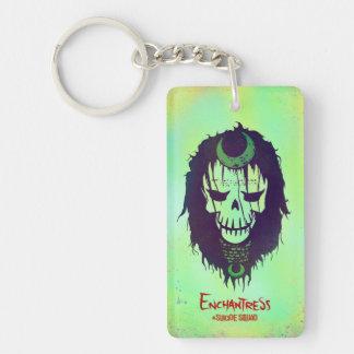 Suicide Squad | Enchantress Head Icon Key Ring
