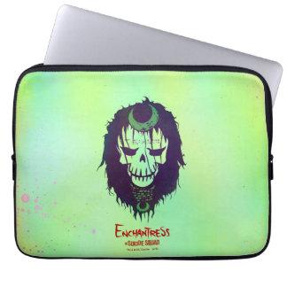 Suicide Squad | Enchantress Head Icon Laptop Sleeve