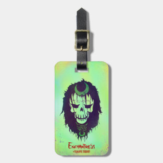 Suicide Squad | Enchantress Head Icon Luggage Tag
