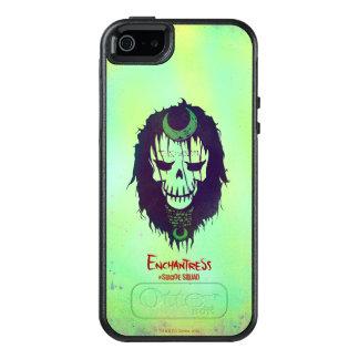Suicide Squad | Enchantress Head Icon OtterBox iPhone 5/5s/SE Case