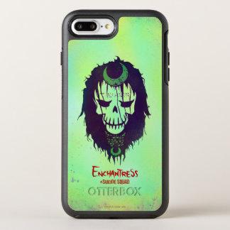 Suicide Squad | Enchantress Head Icon OtterBox Symmetry iPhone 7 Plus Case