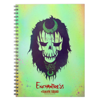Suicide Squad | Enchantress Head Icon Spiral Notebook