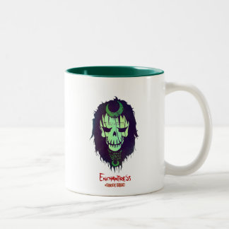 Suicide Squad | Enchantress Head Icon Two-Tone Coffee Mug