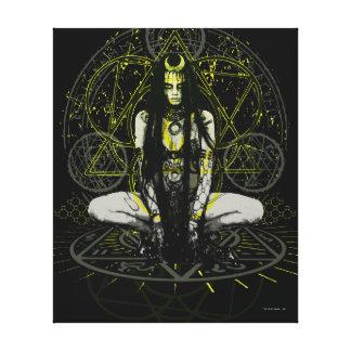 Suicide Squad   Enchantress Magic Circles Canvas Print