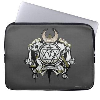 Suicide Squad | Enchantress Symbols Tattoo Art Laptop Sleeve