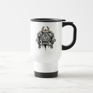 Suicide Squad | Enchantress Symbols Tattoo Art Travel Mug