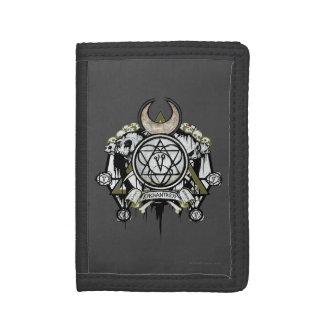 Suicide Squad   Enchantress Symbols Tattoo Art Tri-fold Wallets