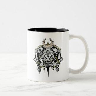 Suicide Squad | Enchantress Symbols Tattoo Art Two-Tone Coffee Mug