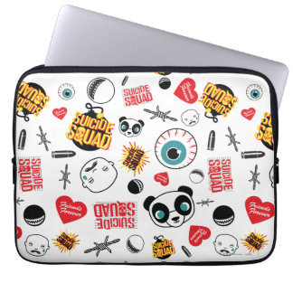 Suicide Squad | Friends Forever Pattern Laptop Sleeve