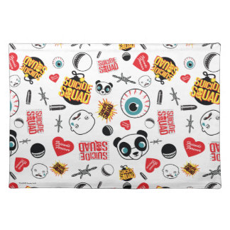 Suicide Squad | Friends Forever Pattern Placemat