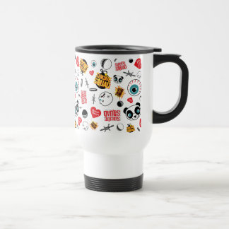 Suicide Squad | Friends Forever Pattern Travel Mug