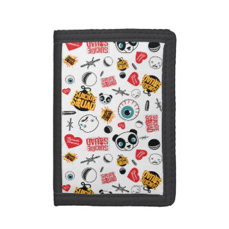 Suicide Squad | Friends Forever Pattern Tri-fold Wallet