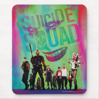 Suicide Squad | Green Joker & Squad Movie Poster Mouse Mat