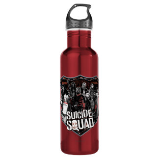 Suicide Squad | Group Badge Photo 710 Ml Water Bottle