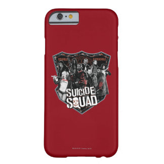 Suicide Squad | Group Badge Photo Barely There iPhone 6 Case