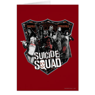 Suicide Squad | Group Badge Photo Card