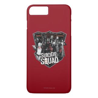 Suicide Squad | Group Badge Photo iPhone 8 Plus/7 Plus Case