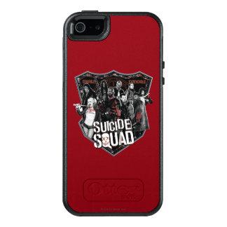Suicide Squad | Group Badge Photo OtterBox iPhone 5/5s/SE Case
