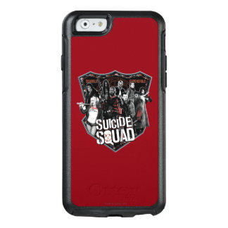 Suicide Squad | Group Badge Photo OtterBox iPhone 6/6s Case