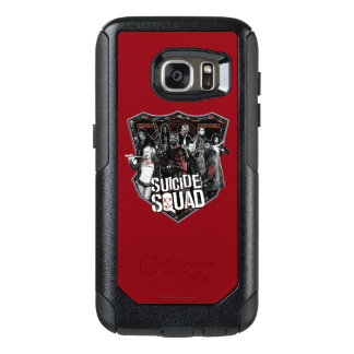 Suicide Squad | Group Badge Photo OtterBox Samsung Galaxy S7 Case