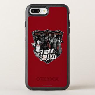 Suicide Squad | Group Badge Photo OtterBox Symmetry iPhone 8 Plus/7 Plus Case