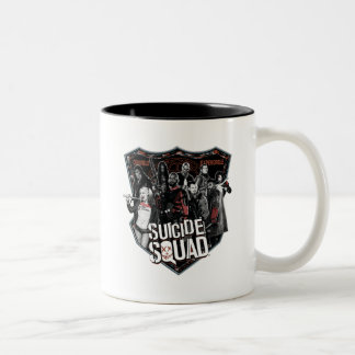 Suicide Squad | Group Badge Photo Two-Tone Coffee Mug