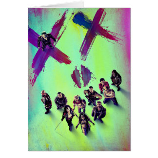Suicide Squad | Group Poster Card