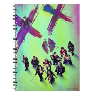 Suicide Squad | Group Poster Spiral Notebook